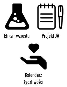Eliksir wzrostu i Projekt JA